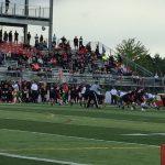 Clackamas High School Varsity Football beat Roosevelt, WA 23-14
