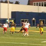 Clackamas High School Varsity Football beat Roosevelt High School 35-12