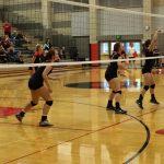 Clackamas High School Girls Junior Varsity Volleyball beat David Douglas High School 2-0