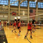 Clackamas High School Girls Freshman Volleyball beat David Douglas High School 2-0