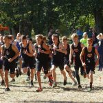 Clackamas High School Boys Varsity Cross Country finishes 4th place