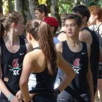 Clackamas High School Girls Junior Varsity Cross Country finishes 2nd place