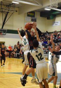 Boys Basketball pictures vs. Reynolds