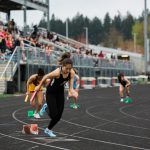 Dual Track Meet vs Centennial and Central Catholic
