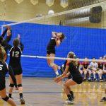 Clackamas High School Girls Junior Varsity Volleyball beat Canby High School 2-0