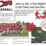 Baseball Crab Feed and Auction Fundraiser