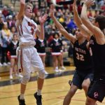 Varsity Boys Basketball vs Oregon City 2/9 (Photographer Steven Huey)