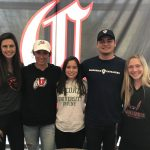 Five Track Athletes Sign Letters of Intent
