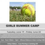 CHS Softball Summer Camp