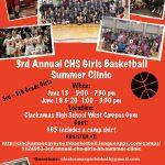 Clackamas Girls Basketball Kid's Summer Clinic