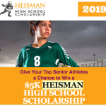 Heisman High School Scholarship Information here for Senior Athletes