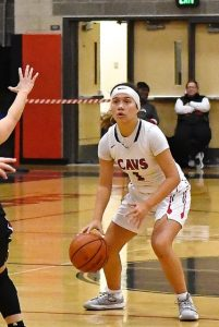 CAVS Varsity Girls Basketball Pictures vs. Tualatin (pictures by Steven Huey)