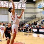 Varsity Boys Basketball Pictures vs. Centennial HS (photos by Steven Huey)