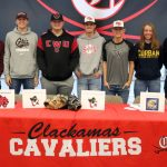 Athletic Signing Day at Clackamas High School
