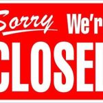 Track and Turf Closed 2/20 and 2/21- ALL DAY and NIGHT