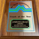 Jayson Wullbrandt–Co-Coach of the Year for Wrestling