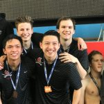 Boy's Swim Team Finishes 6th at State! Best finish in School's History.