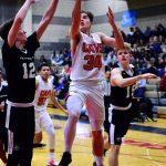 Boys Varsity Basketball Pictures vs. Gresham (photos by Steven Huey)
