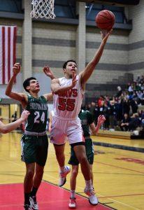 Boys Varsity Basketball Photos vs. Mountain View (photos by Steven Huey)
