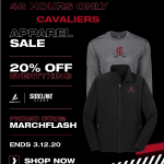 Cavalier Gear 20% off through our Sideline Store