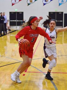 Varsity Girls Basketball Photos vs. Tualatin (pictures by Steven Huey)