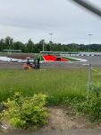 Turf and Track work continue at Clackamas High School