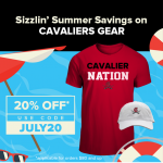 Get your CAV gear 20% off