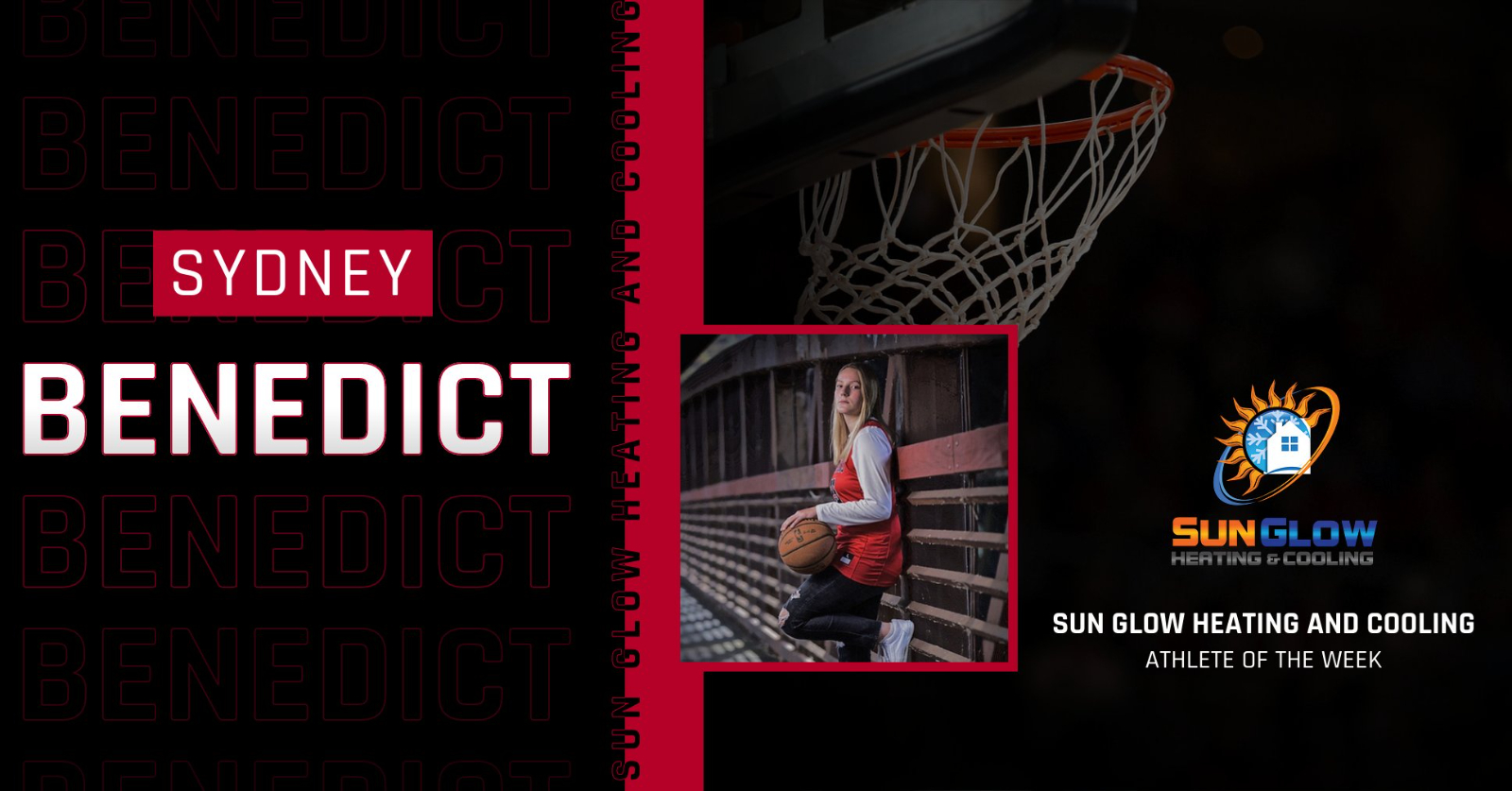 Sun Glow Heating and Cooling Athlete of the Week for October 11th-17th