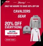 20% off Cavalier Gear