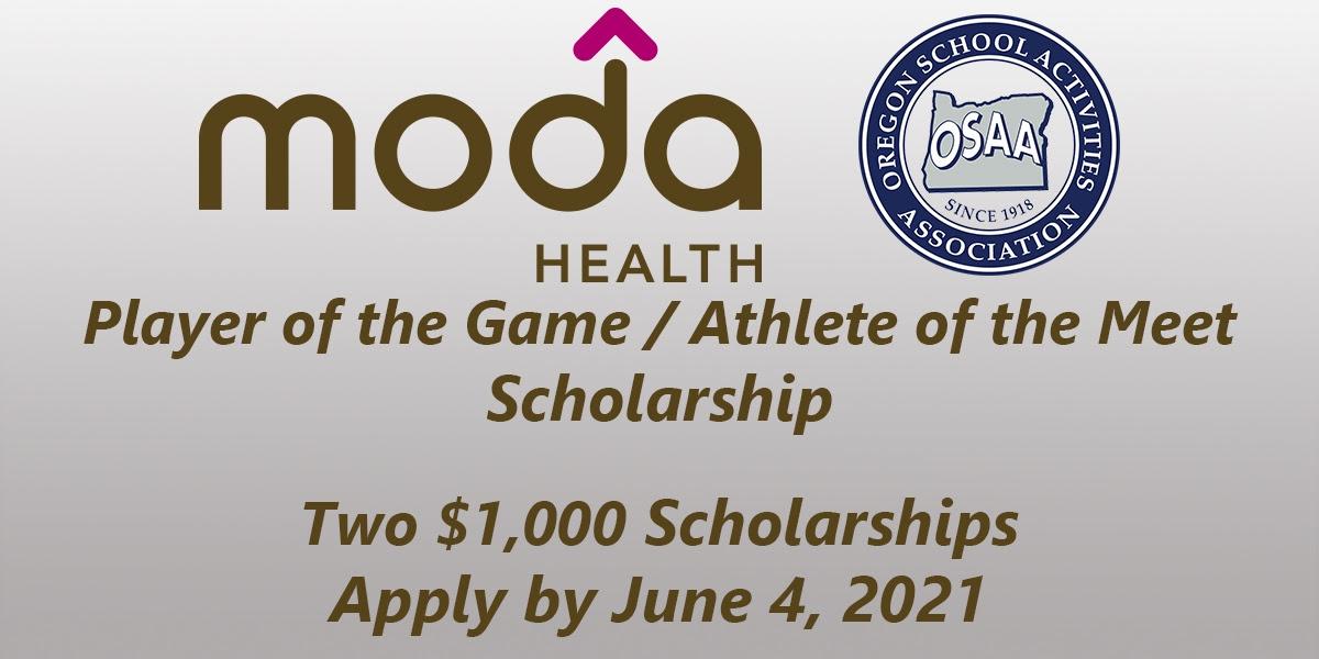 All Varsity Athletes eligible for Moda Scholarship