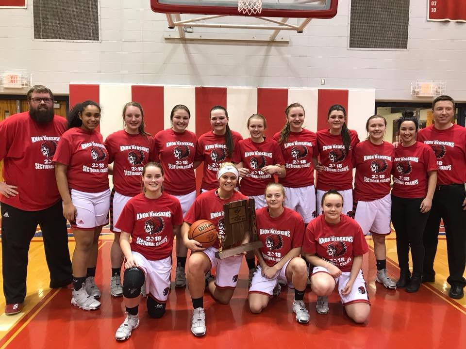 Lady Redskins Win Sectional