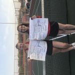 Girls Varsity Tennis finishes 2nd place at (H.N.A.C. Tournament Championship Matches)