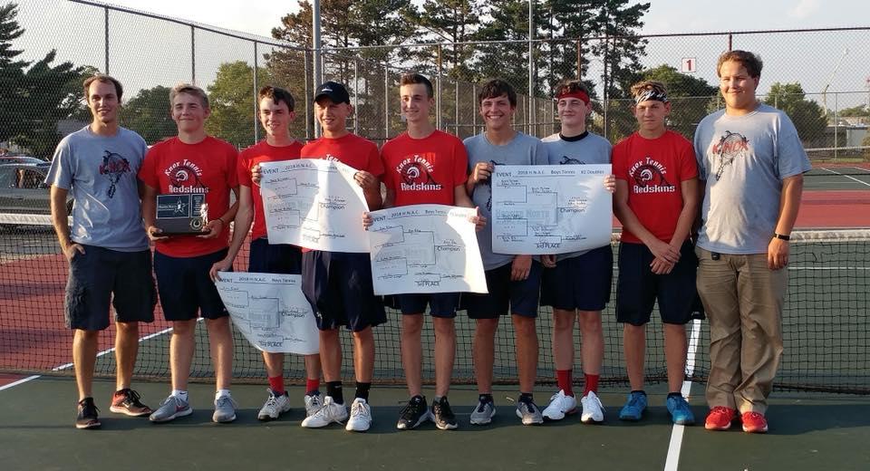 Knox Boys Tennis takes its fourth 3A Tennis HNAC Championship
