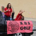 KHS Girls Golf @ Fall Homecoming