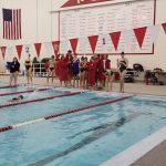 Girls Varsity Swimming falls to Wheeler 107 – 64