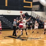 Girls Varsity Basketball beats Kouts Middle/ 55 – 40