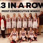 Girls Varsity Basketball beats * LaVille Jr/Sr 39 – 15