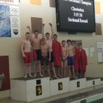 Boys Varsity Swimming finishes 8th place at Sectional @ Chesterton  High School