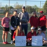 Girls Varsity Tennis finishes 1st place at H.N.A.C. @ Knox High School