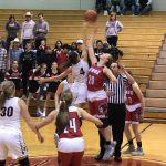 Girls Varsity Basketball beats John Glenn 53 – 47