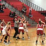 Girls Varsity Basketball beats Rensselaer Central 59 – 54