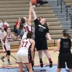 Girls Varsity Basketball beats Griffith 59 – 26