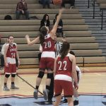 Girls Varsity Basketball beats Romeoville 66 – 21