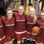 Girls Varsity Basketball beats Winamac Community 42 – 32