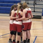 Girls Varsity Basketball beats * LaVille Jr/Sr 60 – 17