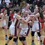 Girls Varsity Basketball beats Kankakee Valley 38 – 33