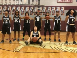 Girls JV Basketball 2017