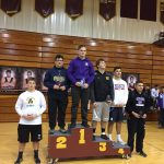 Boys Varsity Wrestling finishes 9th place at Avon Lake High School