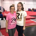 Girls Varsity Gymnastics finishes  at Flip for a Cure Invitational