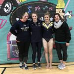 Girls Varsity Gymnastics finishes  at Rock N. Roll Invitational
